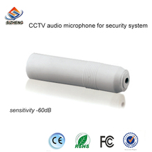 SIZHENG mini sensitivity -60dB security audio monitor microphone sound pickups for CCTV ip cameras