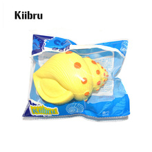 12PCS New Jumbo Kiibru Sea Conch Squishy Scented Super Slow Rising Kids Toy Wholesale
