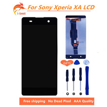 1pcs No Dead Pixel mobile phone display for sony xperia XA lcd F3111 F3113 F3115 touch screen Digitizer Assembly Replacement(China)