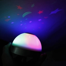 Multifunction Color Changing Star Sky Magic Digital Projection Night Light LED Starry Alarm Clock Time For Home Table Decoration(China)