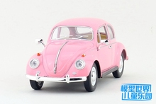 1 PC 17cm Kinsmart Alloy model car toys 1:24 Volkswagen beetle car 1967 classic special models boys gifts(China)