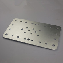 CNC machine parts, Standard Wheel Carriage Plate, General purpose carriage plate for MakerSlide linear rail