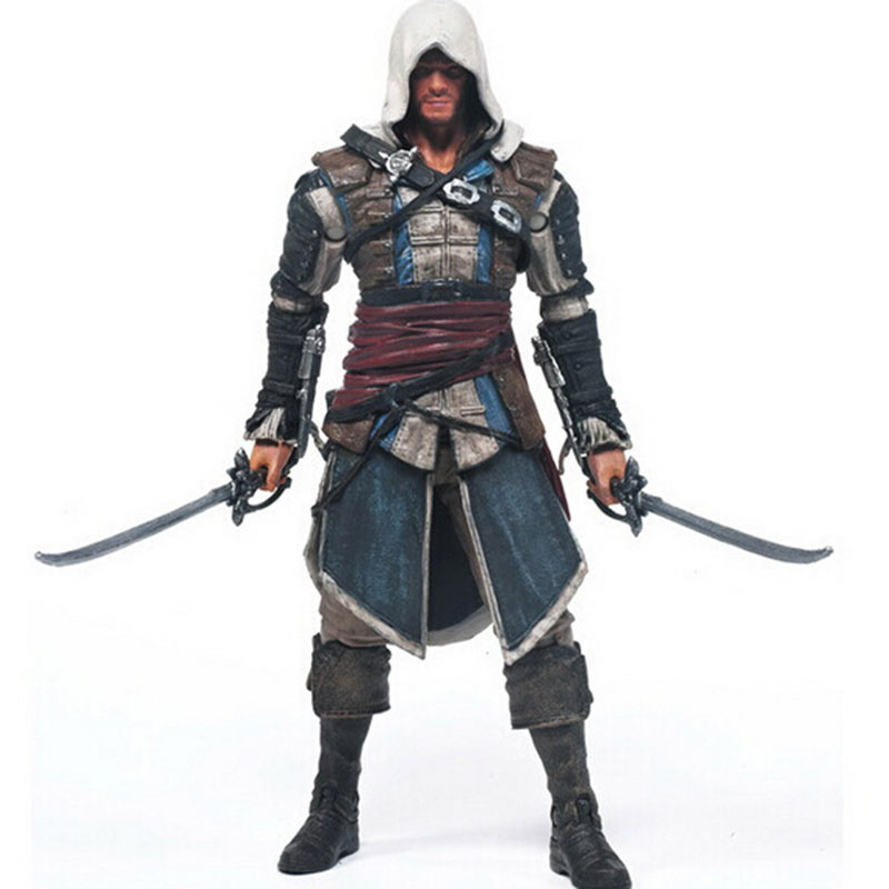2017 Hot Sale  Action figure Assassins Creed Assassinss game doll Edward Canvey Cosplay New in Orginal Box HT1930<br><br>Aliexpress