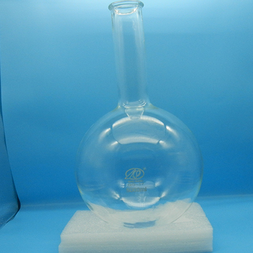 Laboratory glass round bottom boiling Flask<br>