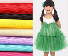 160cm width 10 yards/lot Soft Tulle 100% Polyester mesh wedding dress skirt veil curtain mosquito net tutu petticoat