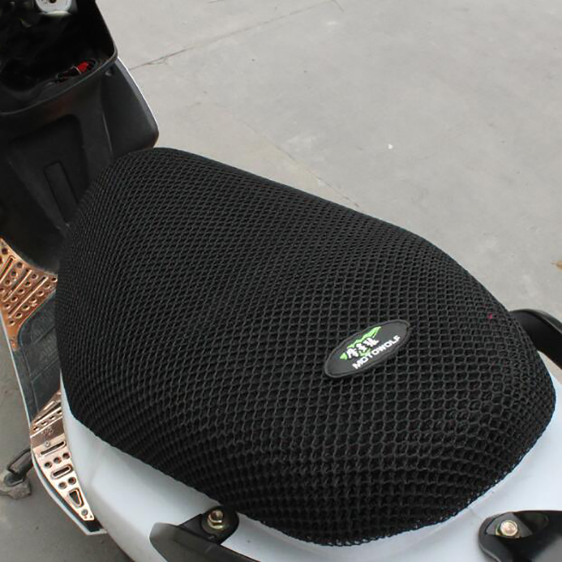 Motorcycle Scooter Sunscreen Seat Cover 3D Sun Proof Prevent Scooter Sun Pad Heat Insulation Cushion Protect