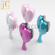 15cm Small Brush Detangle hair brushes Handle fashion comb 8 colors Hot style tool detangling brush Free shipping