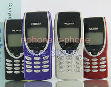 Original NOKIA 8210 Mobile Cell Phone Unlocked 2G GSM 900/1800 Refurbished Can't use in USA