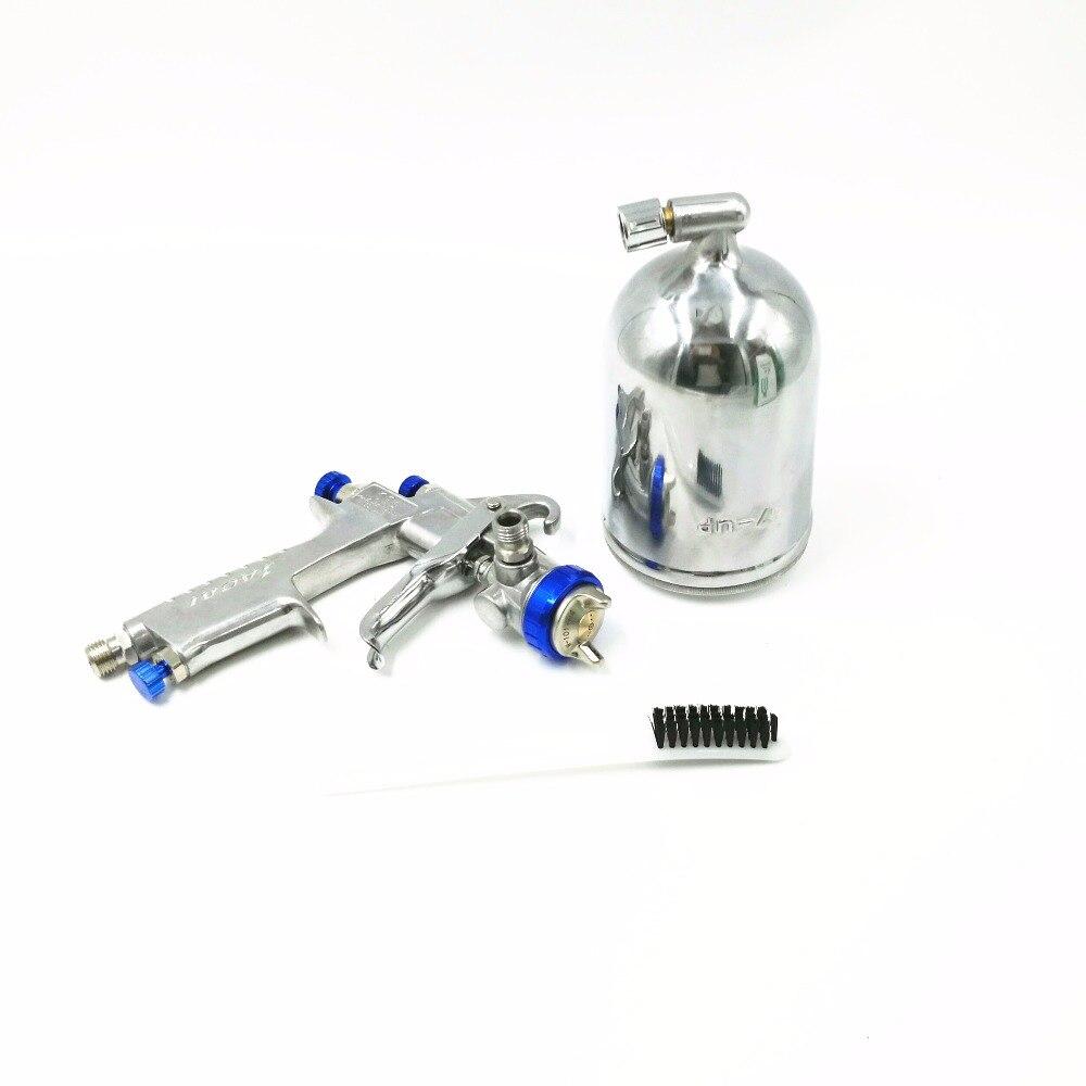 HVLP SPRAY GUN Air Spray Gun Car Paint Gun manual spray gun W-101 1.0, 1.3 1.5 1.8mm nozzle With 400ML Cup Of Paint<br>