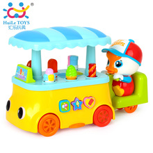 Baby Toy Ice Cream/Sweets Cart Electric Car Model Children Pretend Play Toy Lights, Sounds Kids Toys Diecasts & Toy Vehicles
