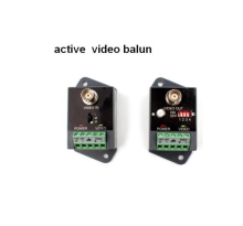 2400M  1pair single channel receive and transmit active video balun