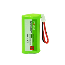 1Pcs 2.4 Volt Ni-MH Battery Pack AAA 800mAh 2.4V NiMH Rechargeable Cordless Phone Battery for BT166342/266342 JST-HE (PK-0104)(China)