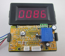 12V 4 Digits Red LED Counter Panel Meter Up Down Relay output for Game Coin Machine