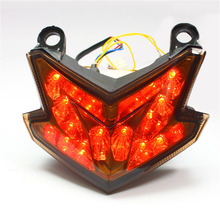 KT Motorcycle Tail Light Brake Light for Kawasaki ZX-6R 2013 Z800 2013 2014 Turn Signal Tail Light ,Motorcycle Accessories(China)