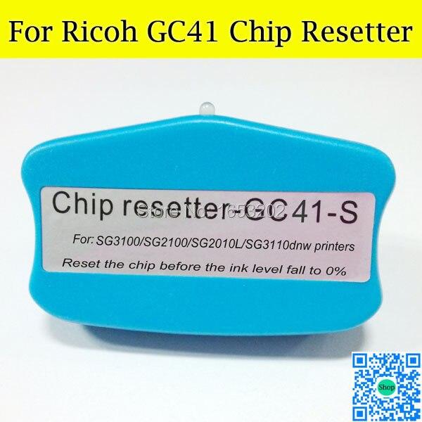 GOOD Chip Resetter For Ricoh GC41 Use For Ricoh SG3100 SG2100 Printer<br><br>Aliexpress