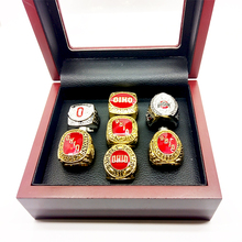 1954/1957/1961/1968/1970/2002/2014 Ohio States Buckeyes Football National Championship Rings Set For Fans(China)