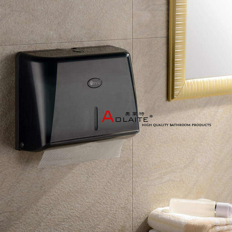 Wall-mounted Hanging High Quality ABS Paper Towel Box,Tissue Pumping Paper Holder For Bathroom,of Office Kitchen Hotel Factory<br>