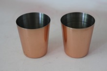 45ml Solid Copper Barrel Mule Mug ,vodka copper mug, beer copper tumbler,copper pint cup