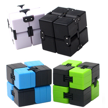 LLTOYS Brand New Infinity Cube Mini neo cube anti-stress Relief Cubo magico Blocks Adult Toys For Children Gift(China)