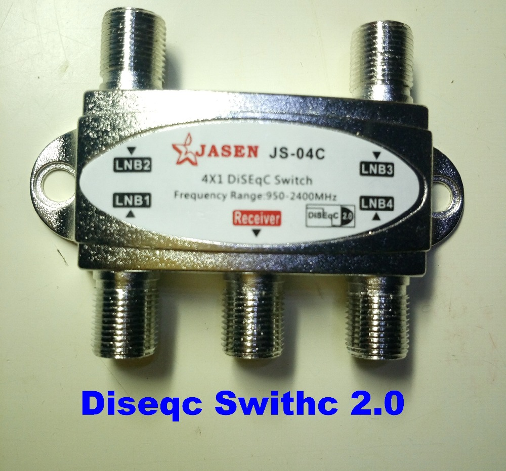 - USA Seller 900-2400MHz SuperMax 4x1 DiSEqC 2.0 Switch Lot of 5