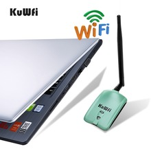 Kuwfi High Power PC WiFi Adapter Ralink3070L 2000mW Wireless N USB Wifi Adapter 150Mbps Wireless USB Wifi Network Card For PC/TV(China)