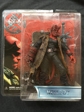 MEZCO Hellboy Movie 1.5 Battle Damaged Hellboy with Swords Collector Action Figure in stock Freeshipping