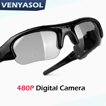G480 HD 1080P Smart Mini Glasses Camera Polarized Camcorder Sunglasses Outdoor Action Sport Driving DV Cam(China)
