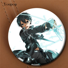 Youpop Sword Art Online Anime Album Brooch Pin Badge Accessories For Clothes Hat Backpack Decoration Men Women Boy Girl XZ0527(China)