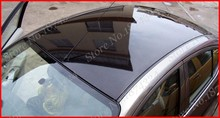 1.35 m X 2 m glossy car roof film with air bubble , high quality black car skylight Film roof membrane(China)