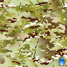 0.5M*10M Camouflage Military Hydrographics Water Tranfer Printing Film HC168-S,Pva Water Soluble Film, Hydro Dipping Camo