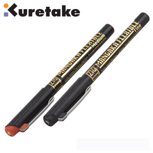 ZIG Brush Pens Kuretake Drawing Pen Comic Cartoon Water-Based Brush Tip F & M Black Brown Japan