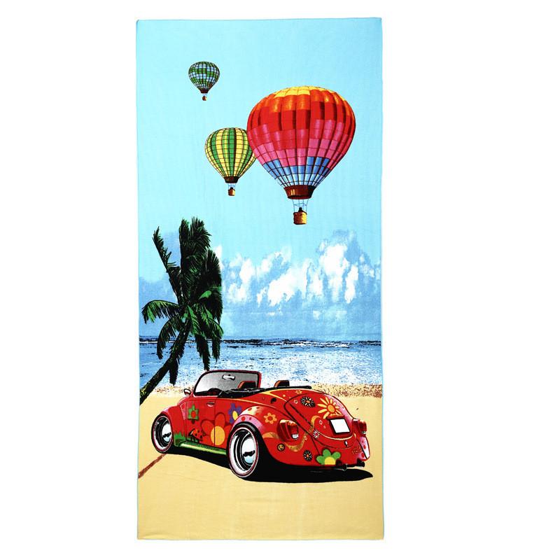 Micro Fiber Printed Beach Towel 140*70cm 18