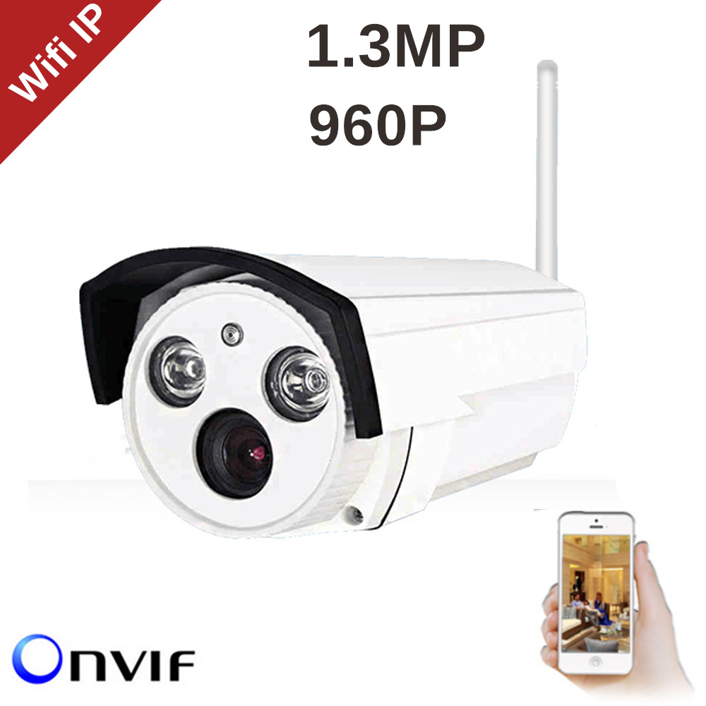 ElitePB Wifi Wireless Camera P2P Mobile phone view 1.3mp 960p DIY easy installation for Indoor Outdoor Home Security Camera <br>