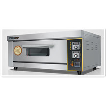 220V/3KW Commercial Professional Electric Oven Electric Pizza Bread Baker Machine 1 Layer 1 Tray Digital Temperature Control(China)