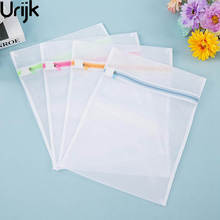 Urijk Clothes Bra Underwear Washing Bag Laundry Bag Mesh Net Wash Pouch Laundry Basket For Washing Machine