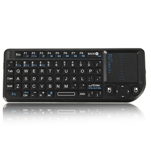 3 in 1 Rii mini X1 Handheld 2.4G RF Wireless Keyboard Qwerty With Touchpad Fly Mouse For PC Notebook Smart Google TV Box