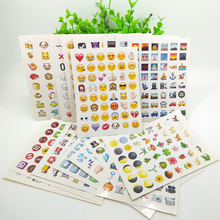 Emoji Sticker Pack Over 850+ Emojis Die Cut Emoticons People Nature Objects Places Symbols Smiley Faces Input Characters Popular