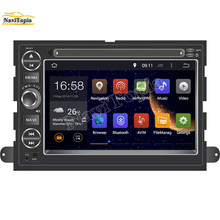 NAVITOPIA HD 16G 7 Inch Pure Android 5.1.1 Car DVD Player for Ford Focus 2004-2006 for Ford Edge 2007-2009 for Ford Expedition