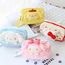 Hello Kitty Women Makeup Bag Cosmetic Bag Beauty Case Make Up Organizer Toiletry Bag Kits Storage Travel Wash Pouch