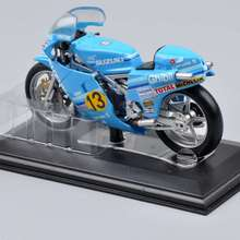 1/22 Italeri Motorcycle Model Diecast Collectible Mini SUZUKI RG-r 500 World Champion 1982 rider F.Uncin Kids Gift Collections D