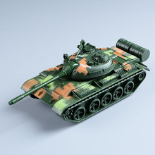 1:32 The Alloy Tank Model Kids Toys Leopard 2 Of T-55 Main Battle Tank World of Tanks for Boys with Pull Back Flashing Musical