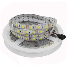 5m 12V Double Color 5050 / 5025 LED Strip DC12V Flexible Tape, CW/WW Dual White in 1 Chip Color Temperature Adjustable CCT Strip(China)