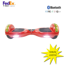 Buy 6.5inch Electric Scooter remote control 2 wheels 6.5inch Hoverboard Self Balance Scooter Bluetooth LED for $103.55 in AliExpress store