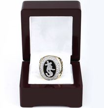 Cost Price 2005 Chicago White Sox World Series Baseball Replica Copper High Quality Championship Rings with Gorgeous Wooden Box(China)