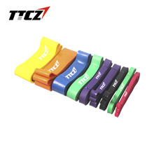 TTCZ 10 levels Resistance Bands Exercise Loop Cross fit Strength Weight strength elastic belt Training Fitness Yoga(China)