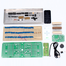 ECL-132 Clock DIY Kit Blue Supersized Screen Display Remote Control Clock Kits Electronic Suite