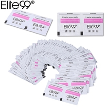 Elite99 Nail Remover 50Pcs/lot Nail Art Gel Polish Lacquer Easy Cleaner Gel Nail Wraps UV Gel Remover Nail Art Tools(China)