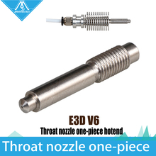 3D Printer accessories  2 in 1 Integrated Feeding Tube (M7 threaded)  Nozzle , integrated hotend Kit  for 1.75mm Filament