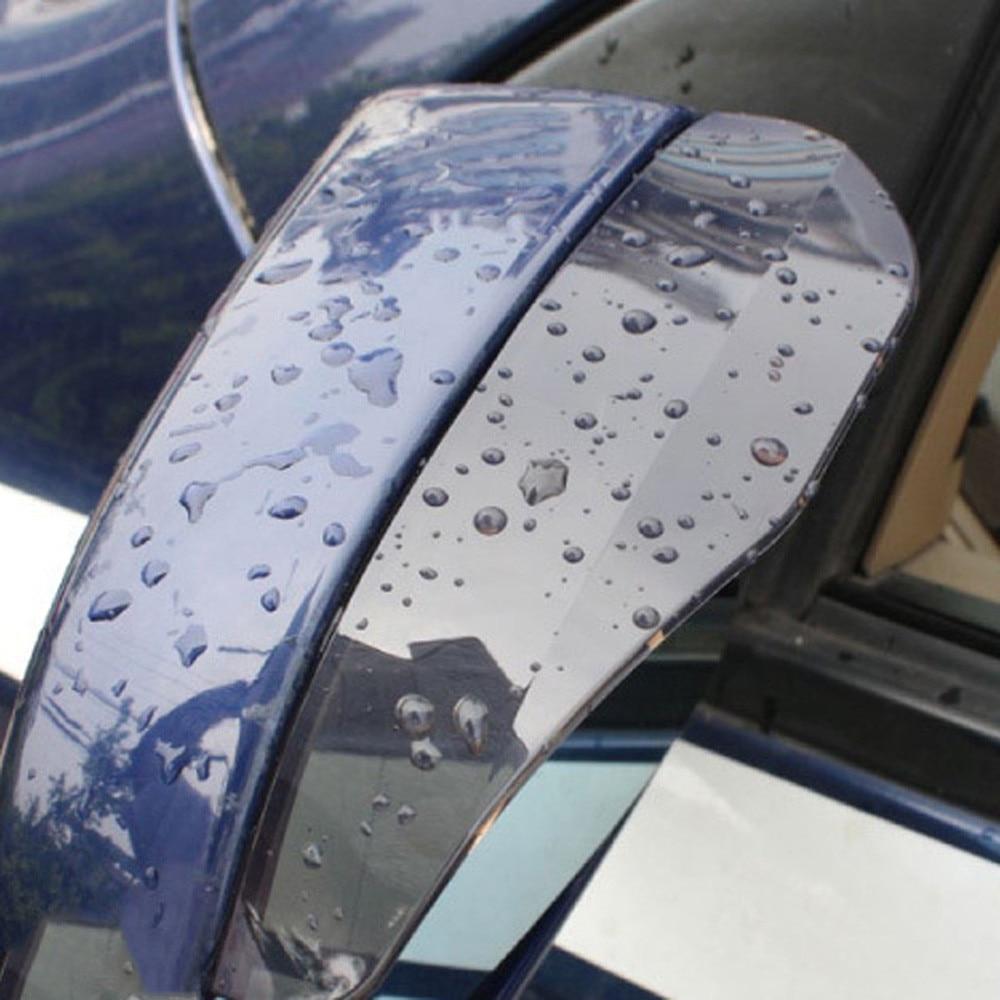 2x Car Rearview Mirror Visor Rain guard Mirror Protector for Honda Civic Type-R