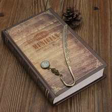 Hot Sale Romantic Design Retro Vintage Metal Alloy Bronze Bookmark Document Book Mark Label Diy Fit For Gift School Office Decor